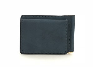 RE.ACT Solid Indigo Money Clip Wallet