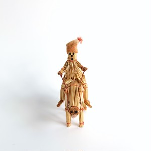 Straw Tomte Ornament