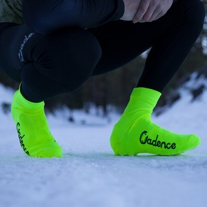 CADENCE SHERMAN SHOE COVERS - HI VIZ