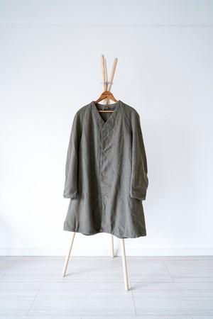 "【1940s】""Swedish Army"" M-39 Wool Liner Coat  / v340"