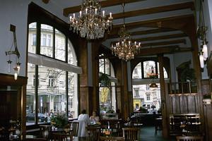 チェコ プラハのカフェ