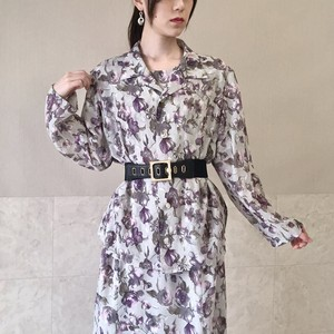 084.rétro one-piece dress set up◇レトロワンピースセットアップ