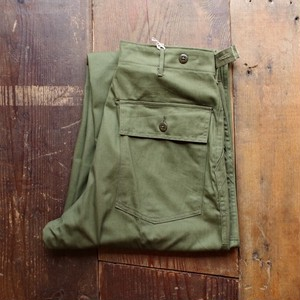 SPECIAL !! 1950s US ARMY M-47 HBT Utility Pants / Near Dead Stock !!