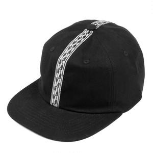 PASS~PORT AUTO RIBBON 6 PANEL CAP BLACK
