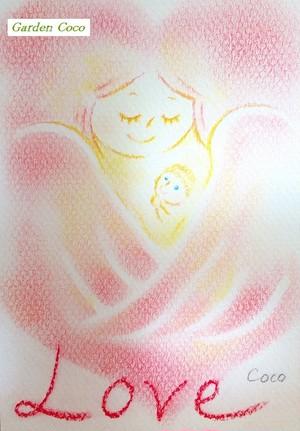 """天使からのメッセージ No.6 """"Love"""" ※販売済作品は¥99表記となります"""