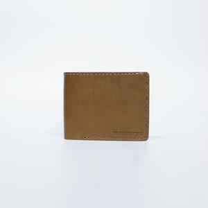 二折財布( カーキ × カーキ )