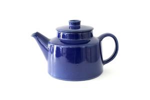 vintage ARABIA KILTA tea pot blue  /  ヴィンテージ アラビア キルタ ティーポット ブルー