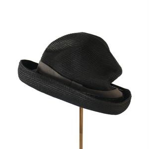 mature ha. BOXED HAT 104MPT black×grey
