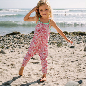 【mini seea】Chimi Kids Jumpsuit - Sabi