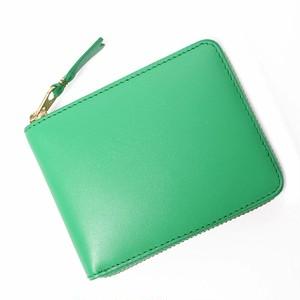 COMME des GARCONS (コムデギャルソン) 二つ折り財布 レザー GREEN[全国送料無料] r015084
