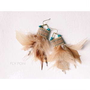 -feather mixed pierce-