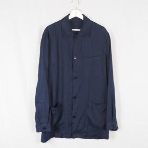 Old Linen Shirt Jacket