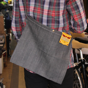 STOKED WORK WEAR / NEW YORK サコッシュ (RIGID GRAY)