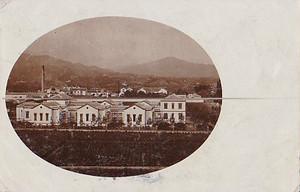 古絵葉書エンタイア「町並み」(1906年)