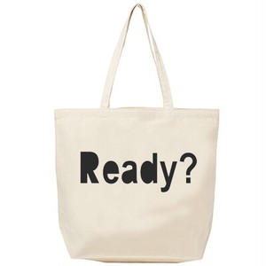 Ready? Tote-bag (NATURAL)
