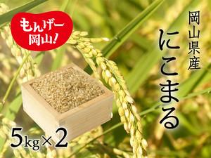 にこまる  10㎏玄米(5㎏×2袋)