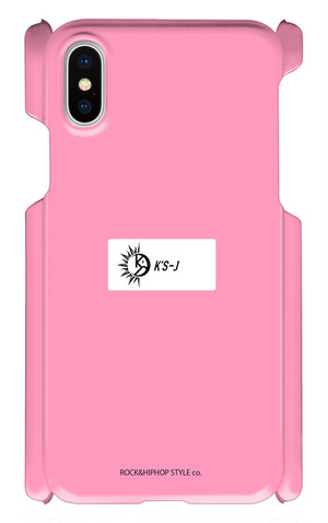 【試作品】iPhone cover X pink
