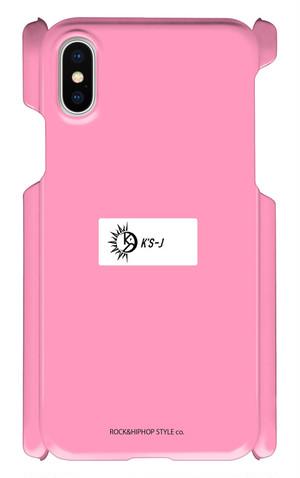 【試作品】iPhone cover X pink