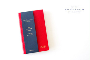 【Sold Out】スマイソン|SMYTHSON|パナマダイヤリー2019|ポケット付き|レッド