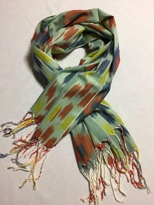 手織りコットンストール016