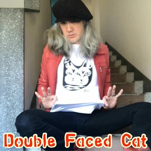 Double Faced Cat T-Shirt