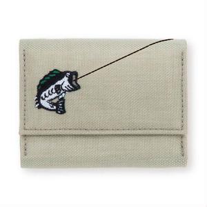 ミニ財布「cururi / BASS FISSHER」