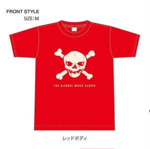 JOE ALCOHOL NEVER SLEEPS 4,0oz T-shirts col.red