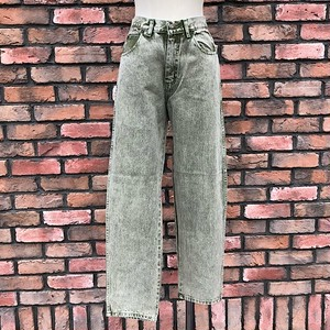 1990s Deadstock Europa Comfort Fit Jeans Green Made In England W27