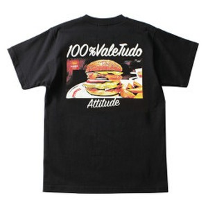 "reversal / リバーサル | "" rvddw BURGER COTTON TEE "" - Black"