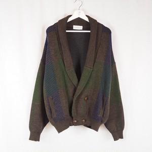 Showl-collar Knit Cardigan