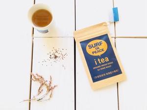 Surfinpeace  I Tea ( 海部藍の種茶 )