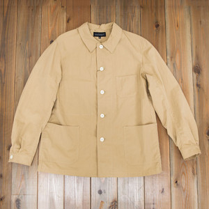 【SOLD OUT】COOCHUCAMP : Happy shirt jacket / beige