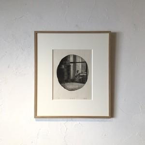 【版画アマビエ展】中島 尚子 「S邸之図 – 光」NAKASHINA Naoko, wood cut
