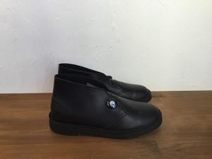"Ptarmigan""""SHERBET BOOTS smooth Leather Black"""