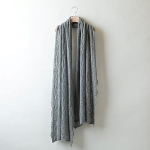 DIA-PATTERN LACE STOLE (Gray)  PCA0003