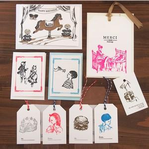 活版印刷お楽しみカードセット