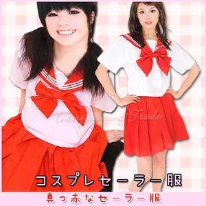 コスプレ服 セーラー服 赤セーラー 412-415