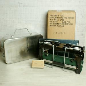 US軍用 ミリタリー メディカル ストーブ 523 1956年7月 コールマン製造 [AE08]