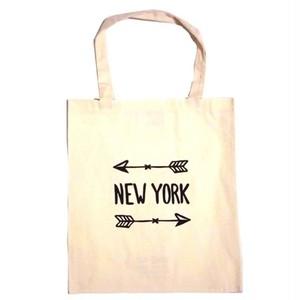 Bag all エコバッグ ニューヨークアロー 折り畳み トート A4サイズ入る おしゃれ バック 布製 レディース メンズ 買い物袋 ブランド