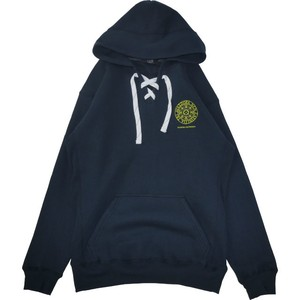 Small Magic Circle Lace Hooded Sweatshirt (Navy)