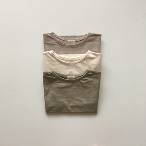 No.0425 くすみロングTシャツ