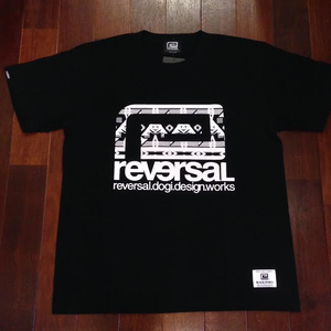 "reversal / リバーサル | "" BNO BIG MARK COTTON TEE "" - Black"