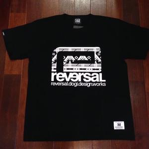 "reversal / リバーサル | 【 SALE!! 】 "" BNO BIG MARK COTTON TEE "" - Black"