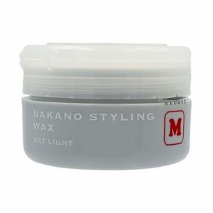 ナカノ スタイリング ワックス M (マットライト) 90g