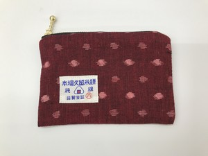 kasuri craft 久留米絣小銭入れ