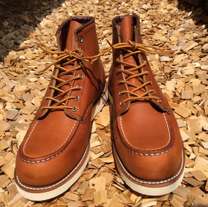 "RED WING(レッドウィング)""CLASSIC WORK Moc-Toe"""