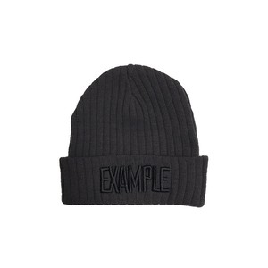 EXAMPLE LOGO SUMMER BEANIE /GRAY