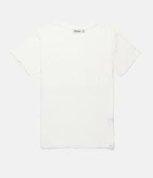 RHYTHM リズム Tシャツ BASIC  SLUB T-SHIRT WHITE M