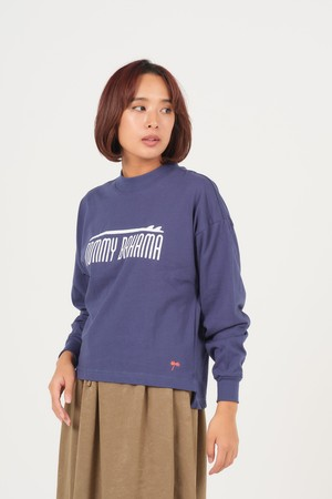 LADIES SURF ABOVE TB L/S/NAVY