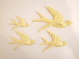 Flying Birds レモン・イエロー
